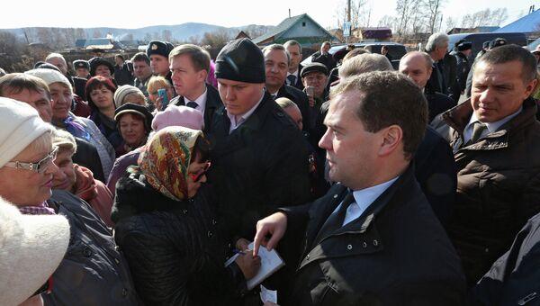 Рабочая поездка Д.Медведева в Комсомольск-на-Амуре, архивное фото