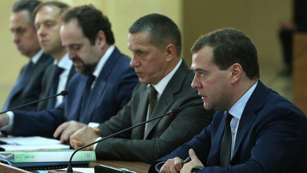Рабочая поездка Д.Медведева в Комсомольск-на-Амуре