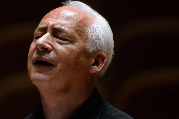 Художественный руководитель и главный дирижер Национального филармонического оркестра России Владимир Спиваков