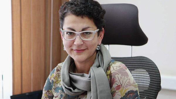Директор Новосибирского института мониторинга и развития образования Юлия Захир, архивное фото