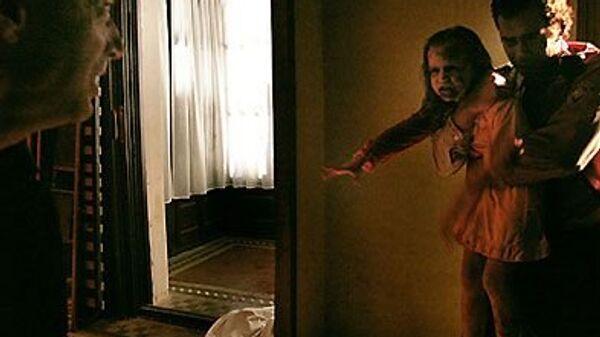 Кадр из фильма ужасов Репортаж