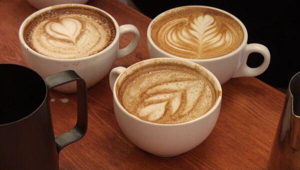 Latte Art - искусство рисования молоком на кофейной пене. Фото с места события