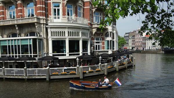 Вид Амстердама. Архивное фото