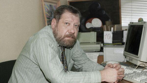 Архив. Комментатор радиостанции Эхо Москвы Андрей Черкизов