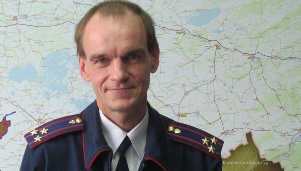 Руководитель  отдела криминалистики СУ СКР по Новосибирской области Максим Леонтьев, архивное фото