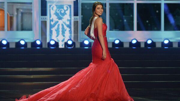 Обладательница титула Мисс России 2013 Эльмира Абдразакова