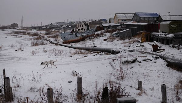 Города России. Нарьян-Мар. Архивное фото