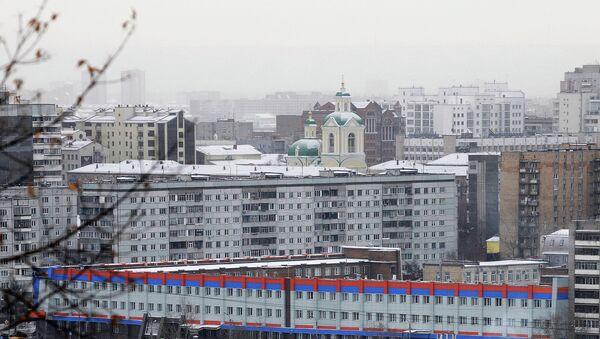 Красноярск зимой, архивное фото