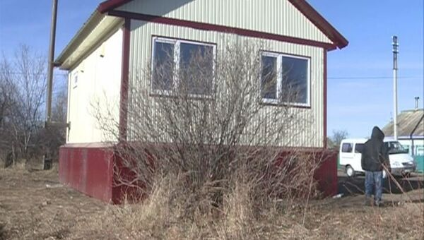 Дом для подтопленцев сдан в Приамурье