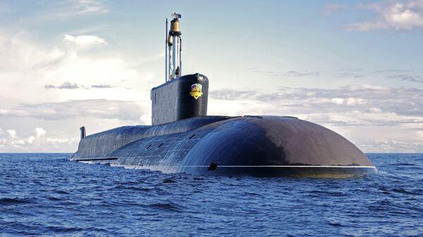 Стратегическая атомная подводная лодка проекта 955 Борей. Архивное фото
