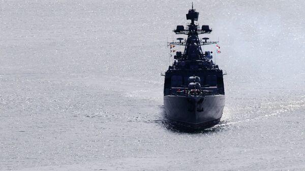 Большой противолодочный корабль. Архивное фото