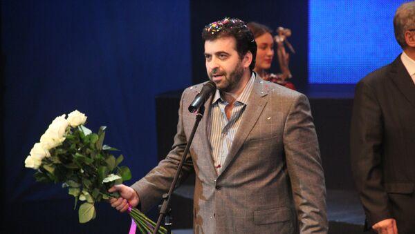 Александр Баргман на церемонии вручения театральной премии Золотой софит
