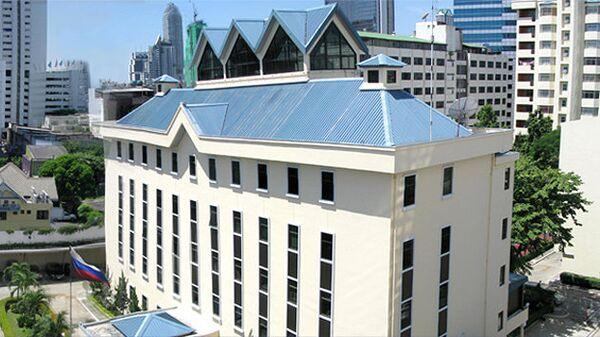 Здание посольства РФ в Таиланде