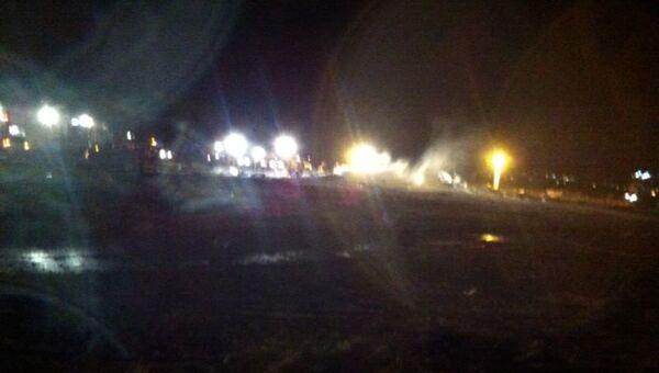 Авиакатастрофа в Казани, фото с места событияазани