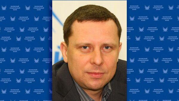 Председатель правления Волжского социального банка Валерий Кучканов, архивное фото