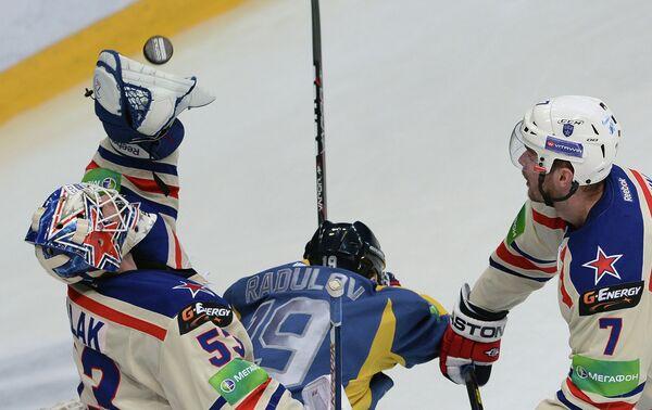 Хоккей. КХЛ. Матч Атлант - СКА