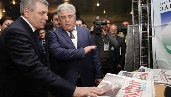 Глава Кабардино-Балкарской республики Арсен Каноков
