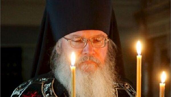 Игумен Спасо-Преображенского Валаамского монастыря епископ Троицкий Панкратий