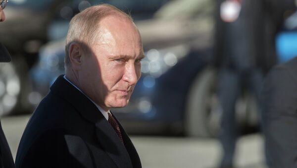 Визит В.Путина в Италию. Архивное фото