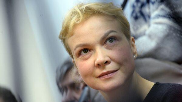 Бывшый шеф-редактор Ура.ру Аксана Панова. Архивное фото
