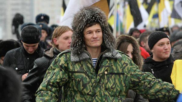 Лидер движения Русский прорыв в Новосибирске Евгений Логинов, архивное фото