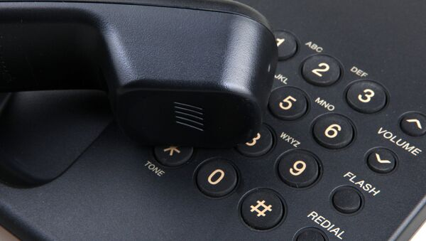 Телефон. Архивное фото