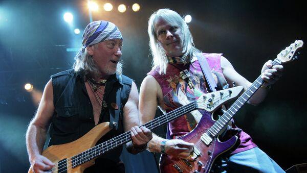 Концерт Deep Purple. Архивное фото
