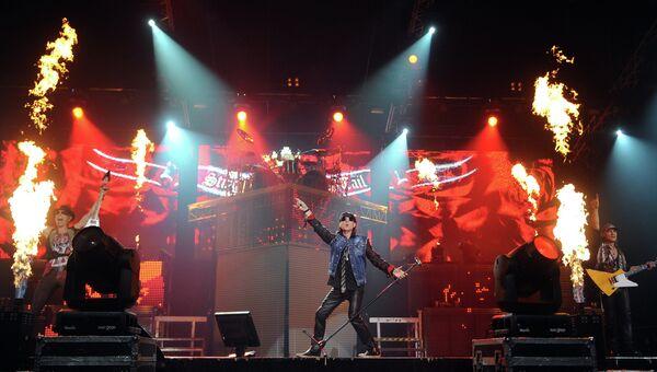 Концерт группы Scorpions в Москве. Архивное фото