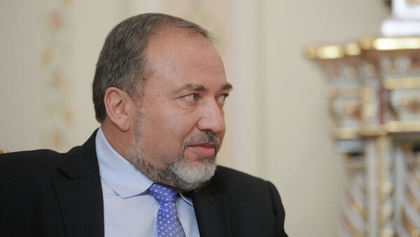 Министр иностранных дел Израиля Авигдор Либерман, архивное фото