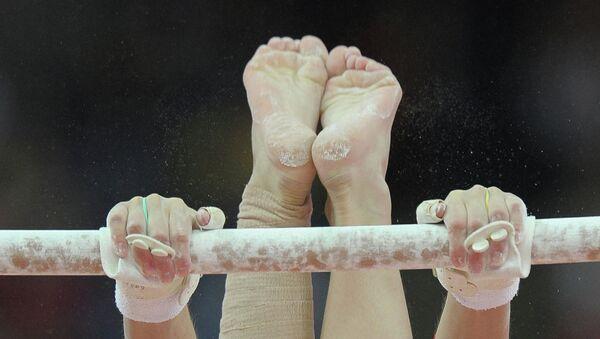 Спортивная гимнастика. Архивное фото.