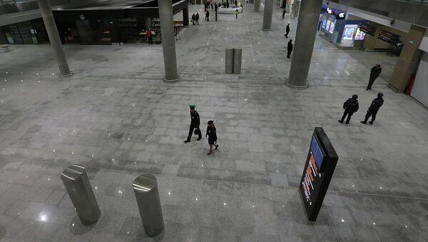 Новый пассажирский терминал в Пулково. Архивное фото