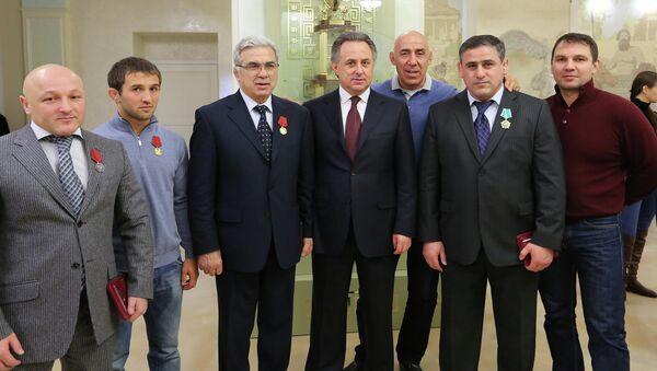 Виталий Мутко. Вручение наград.