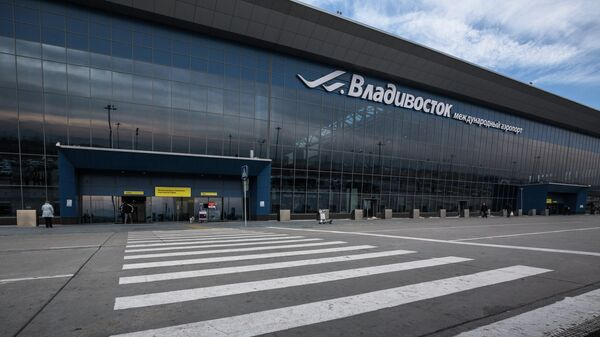 Международный аэропорт Владивостока, архивное фото