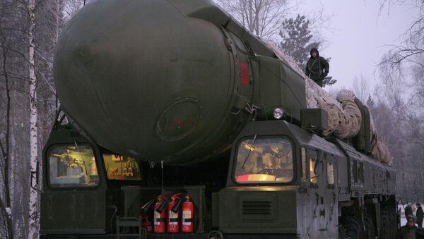 Ракетный комплекс Тополь