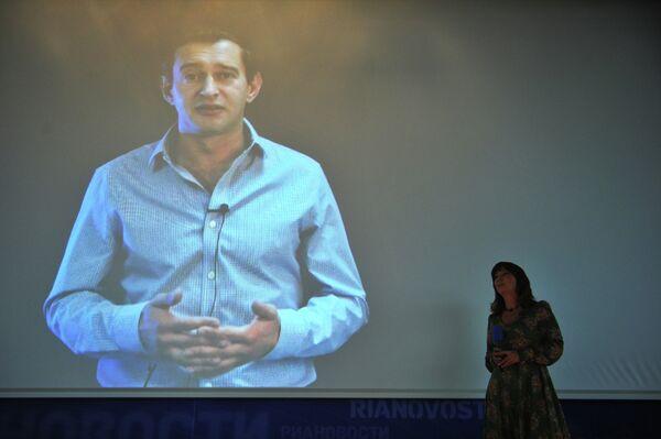 Татьяна Климова на церемонии награждения лауреатов премии Новая Интеллигенция