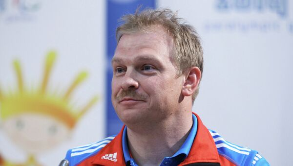 Шестикратный олимпийский чемпион Паралимпийских Игр Сергей Шилов. Архивное фото.