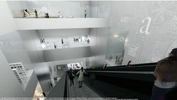 Heneghan Peng Architect. Конкурс на разработку архитектурной концепци ГЦСИ