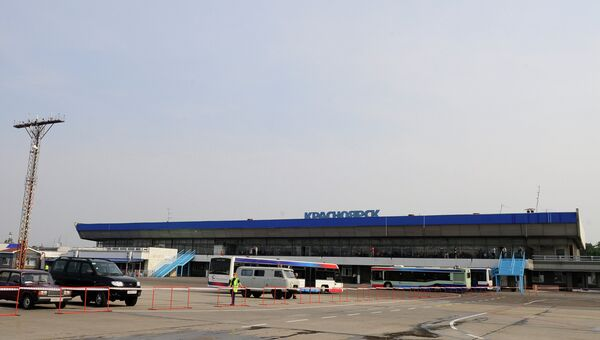 Аэропорт Емельяново в Красноярске, архивное фото