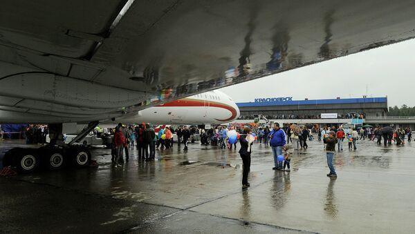 Аэропорт Емельяново в Красноярске. Архивное фото