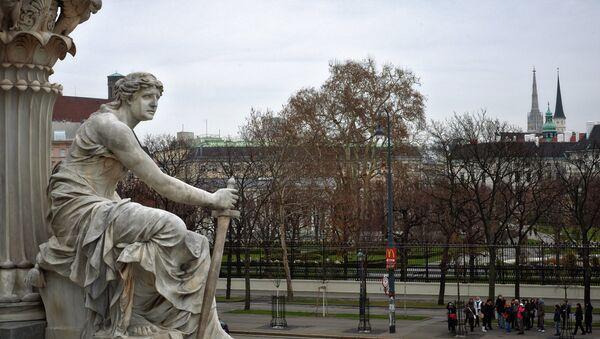 Города мира. Вена. Архивное фото.