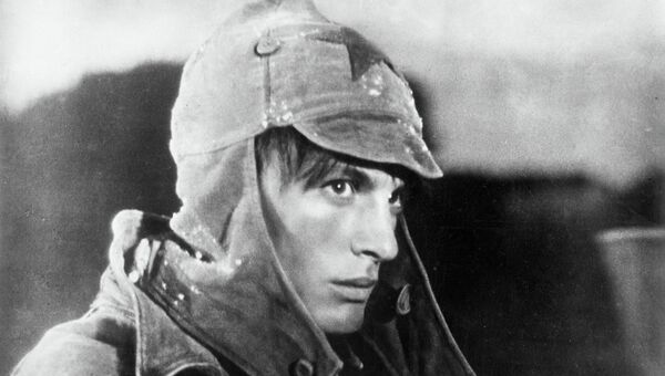 Кадр из фильма Павел Корчагин, 1957 год