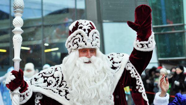 Дед Мороз в Самаре, архивное фото