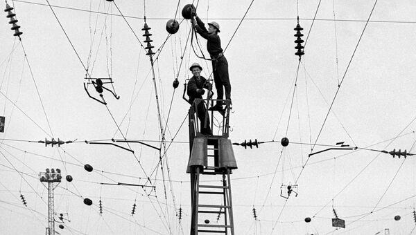 Фоторабота Б. Криштула Плюс электрификация