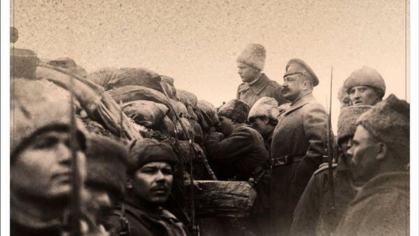 Альбом-календарь с фото Первой мировой войны издан в Новосибирске