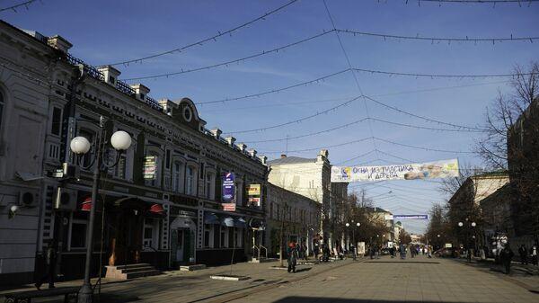 Московская улица города Пенза