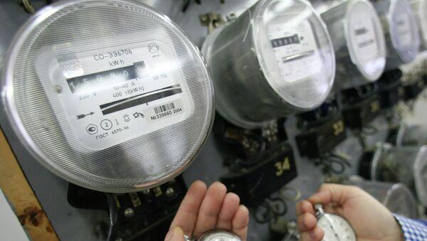 Электрические счетчики. Архивное фото