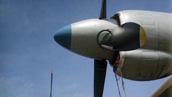 Турбовинтовой двигатель военно-транспортного самолета АН-12