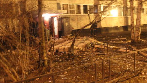 Пожар в доме на улице Ольги Форш в Калининском районе Петербурга. Фото с места события