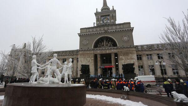 Теракт на железнодорожном вокзале в Волгограде. Архив