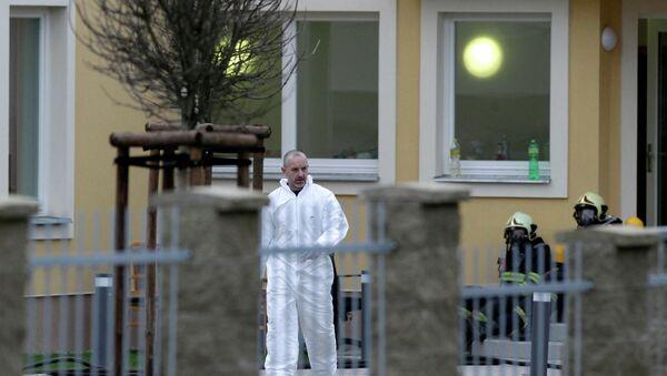 Взрыв в резиденции посла в Праге , архивное фото